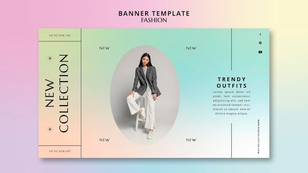 New collection banner template