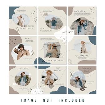 新しいコレクションファッションセールinstagramパズルフィード