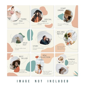 Новая коллекция fashion sale instagram puzzle feed
