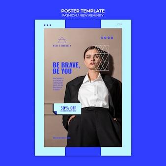 Nuovo modello di stampa per la moda femminile