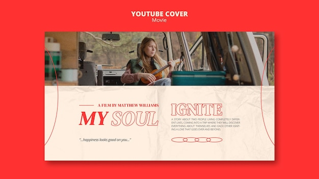 New filmyoutube cover template