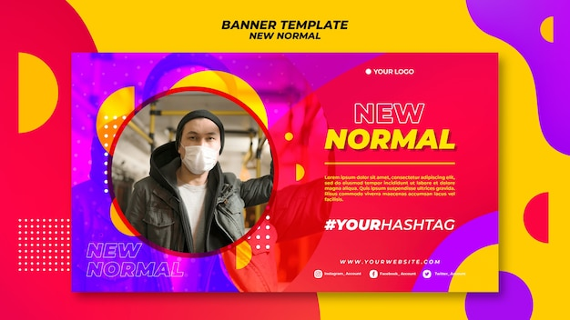 New normal banner