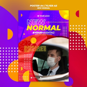New normal poster theme