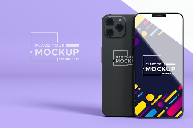 New phone collection mock-up
