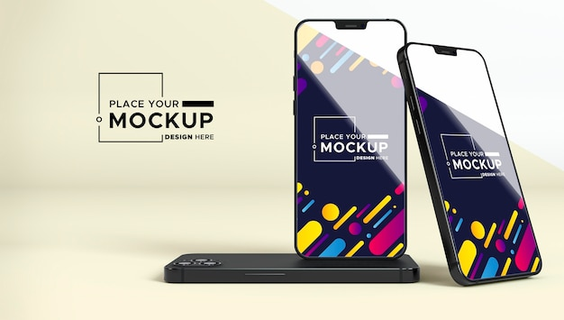 New phone pack mock-up