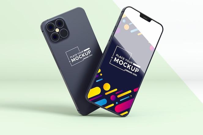 New phone set mock-up