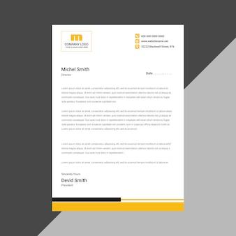 New simple letterhead