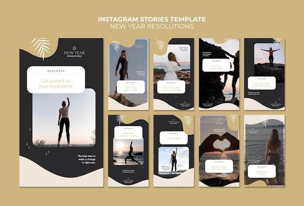 Propositi per il nuovo anno storie di instagram