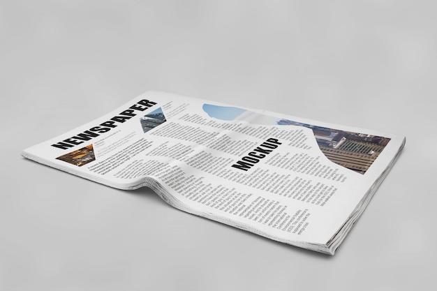 Макет газеты
