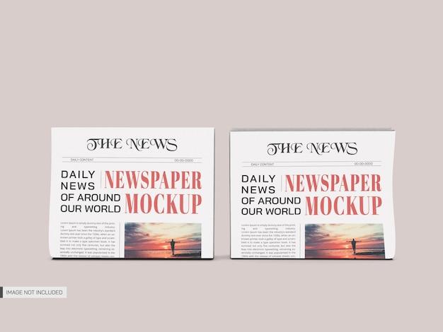 Newspapers mockup