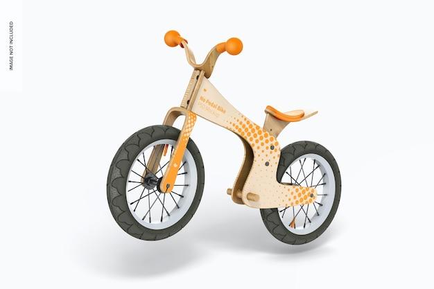 페달 자전거 모형 없음, 떨어지는