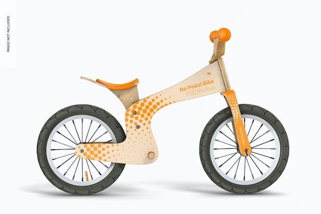 Мокап без педального велосипеда