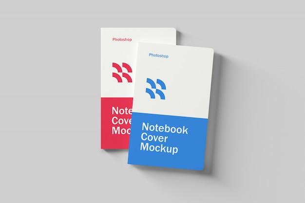 Макет обложки для ноутбука
