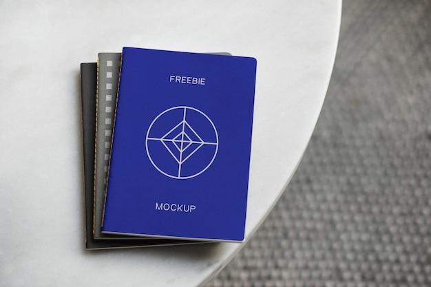 Notebook psd mockups