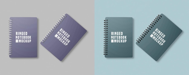 Notebook set mockup