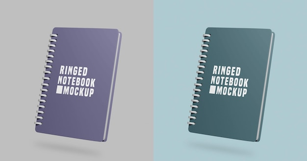 Notebooks mockup
