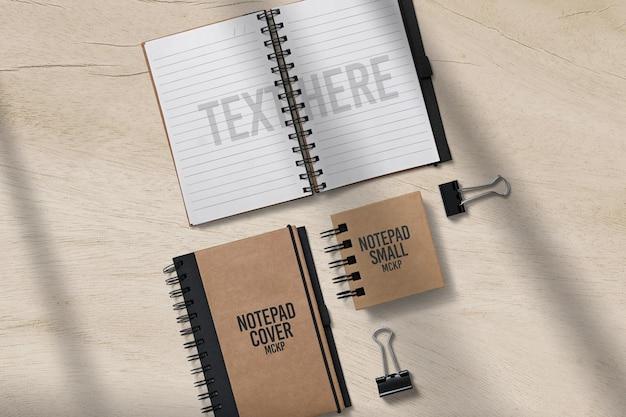 메모장 책 모형 디자인