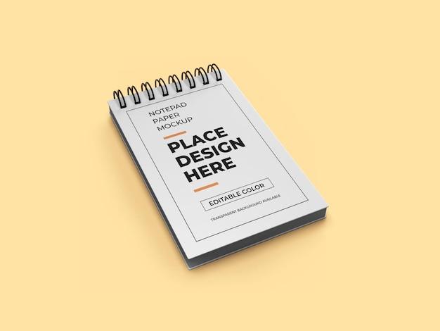 Бумажный макет блокнота