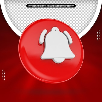 Notification icon for social media