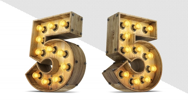 Знак номер лампочки