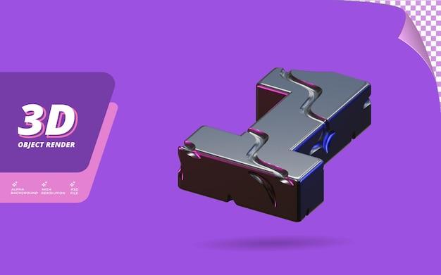 1번, 3d 렌더링의 1번 추상 금속성 검정 타이어 텍스처 디자인 일러스트와 함께 격리