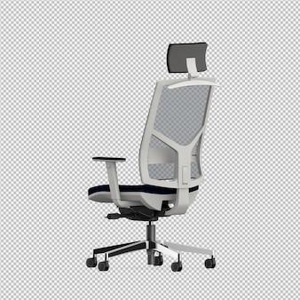 Офисный стул 3d изолированные визуализации