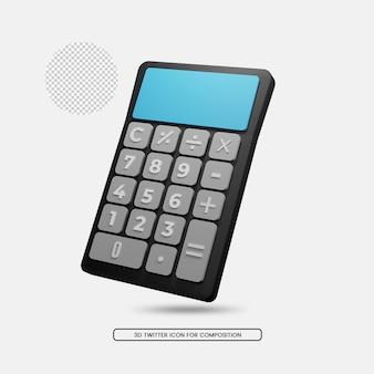 事務機器計算機3dレンダリング