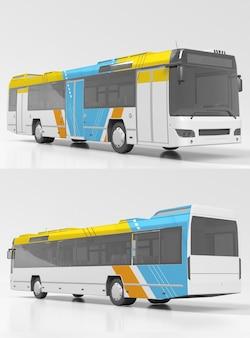 Макет старого автобуса