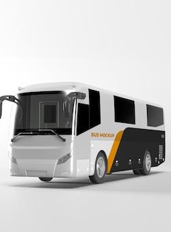오래된 버스 모형