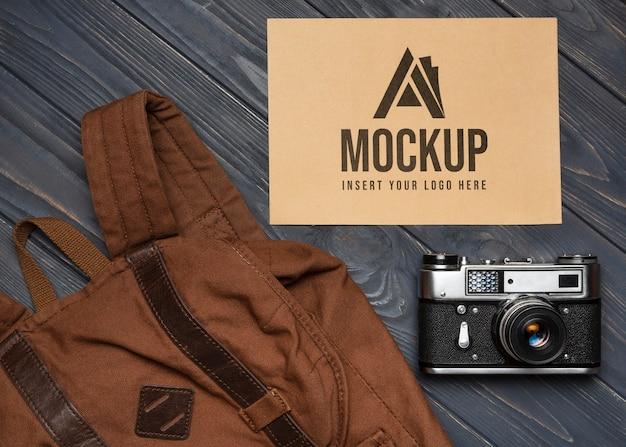 Vecchio accordo di mock-up accessorio di merchandising Psd Gratuite