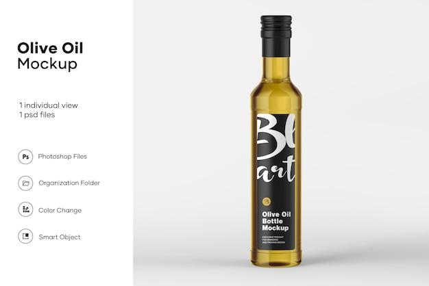 Мокап бутылки оливкового масла