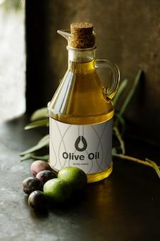 Olive oil mockup