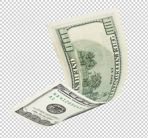 One hundred dollar banknote