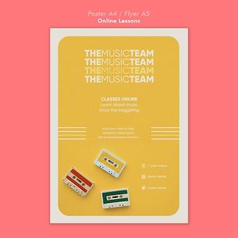 Poster di lezioni online