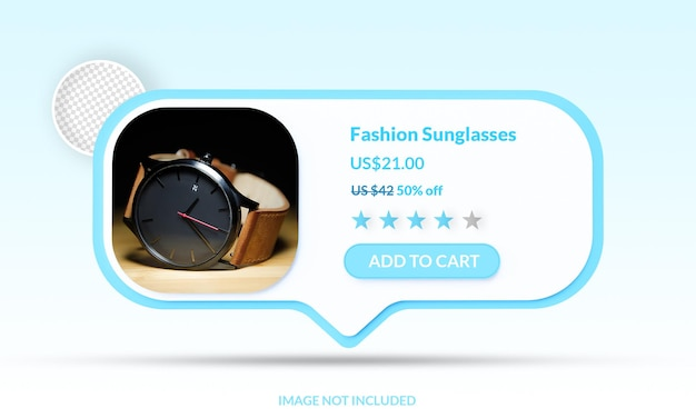 Online shopping add to cart ecommerce mockup isolated