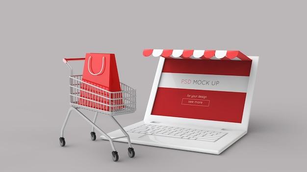 Интернет-магазин 3d-рендеринга
