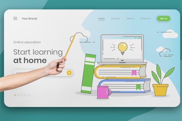 Online university curses concept