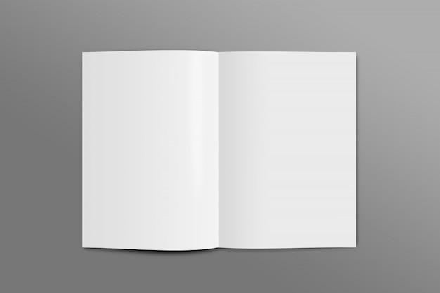 オープンページモックアップa4サイズ