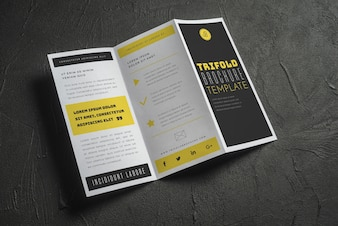 brochure mockup vectors photos and psd files free download