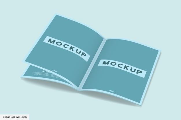 열린 잡지 모형 절연