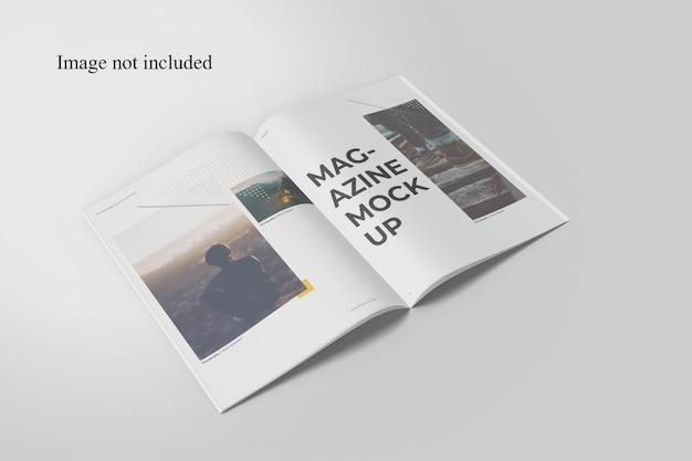 雑誌のモックアップを開く