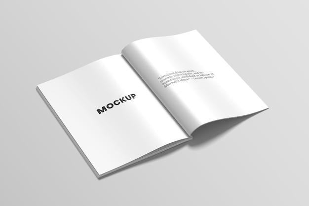Открытый макет журнала