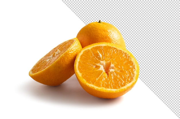 背景から分離されたオレンジ