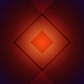 Orange rhombus background