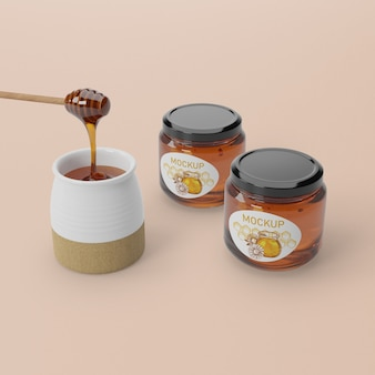 Organic honey product