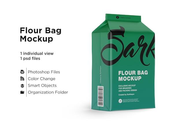 Original flour bag mockup