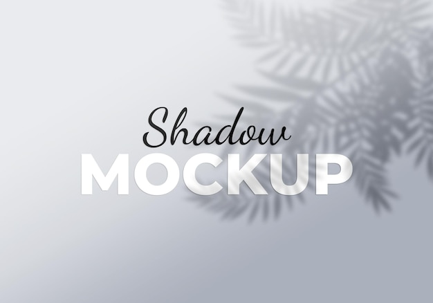 Overlay shadow effect of tropical product background
