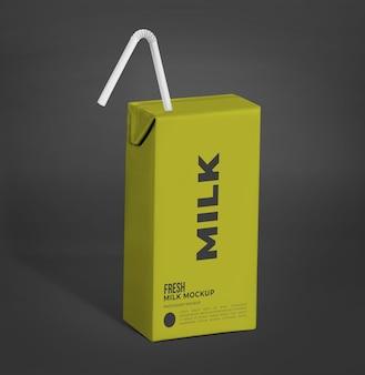 Макет упаковки напитка жидкого продукта