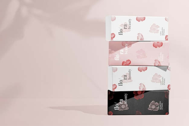 Packaging  beauty product, remix from artworks by zhang ruoai