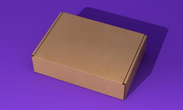 포장 상자 개념 모형